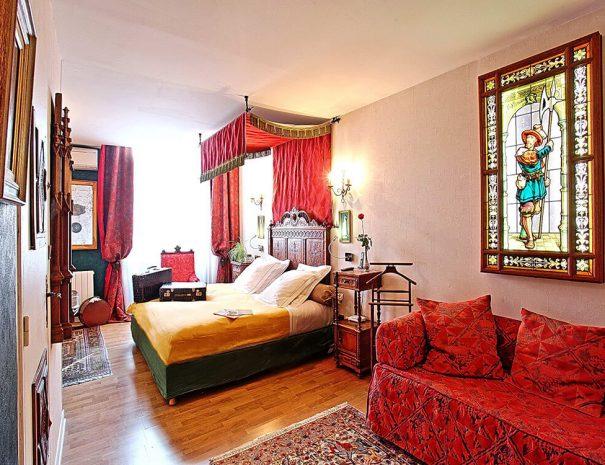 Hôtel Renaissance Castres - Chambre - Médiévale